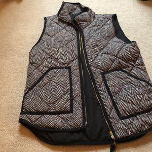 Herringbone Jcrew vest